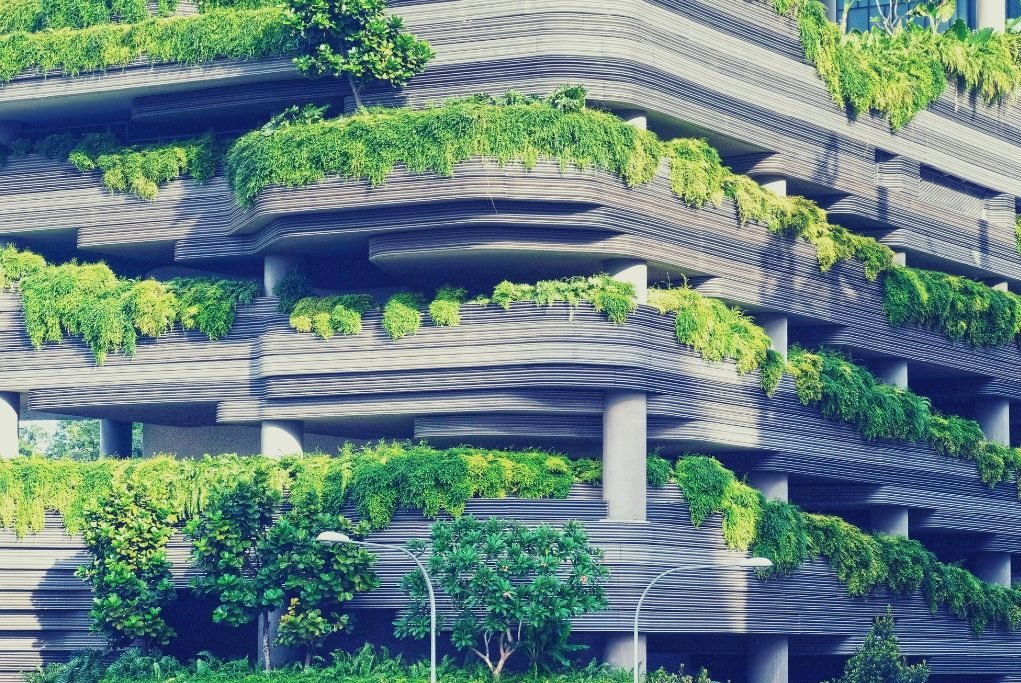 Green building, which saves energy