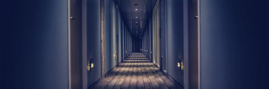 Corridor, Lighting, Path, Hotel Access System