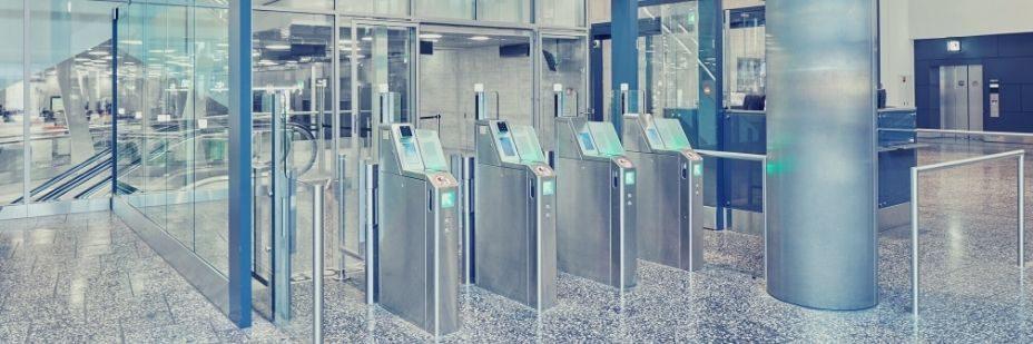 Turnstile, Airport, Access