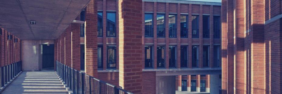 Brick, Office Building, Building