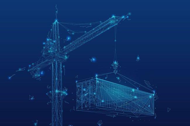 Lighting, Construction Crane, Construction