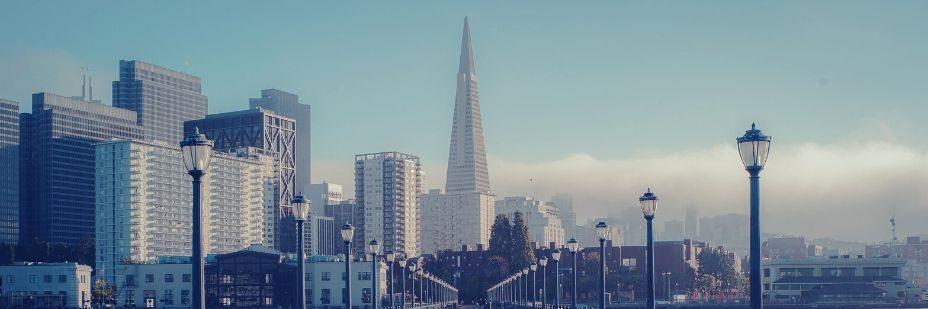 La pyramise transaméricaine à San Francisco