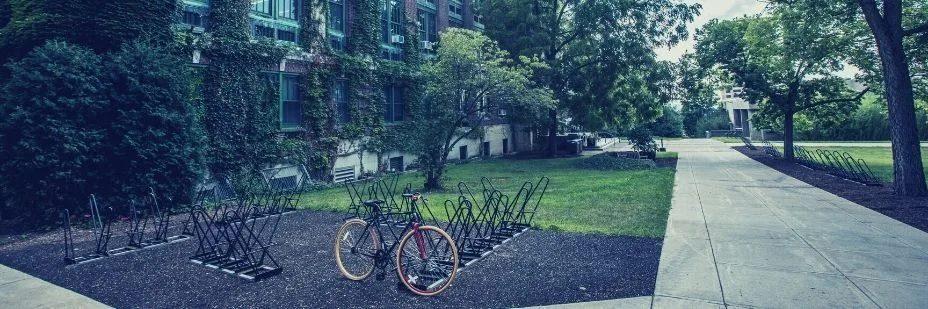 Université Campus, Vélo, Développement durable