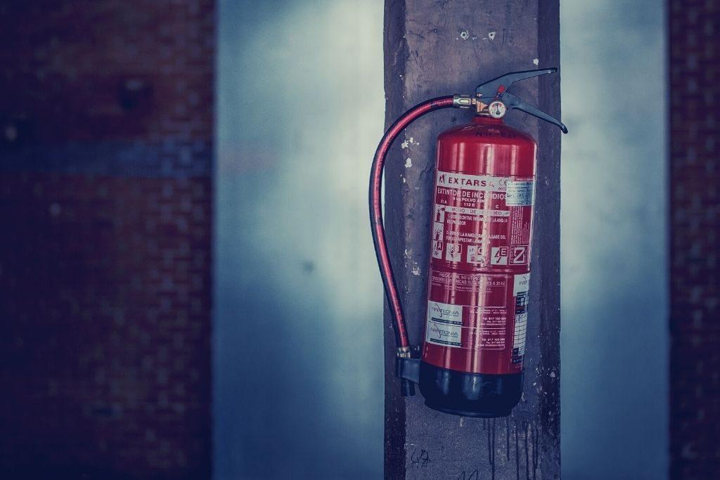 Porte résistant au feu