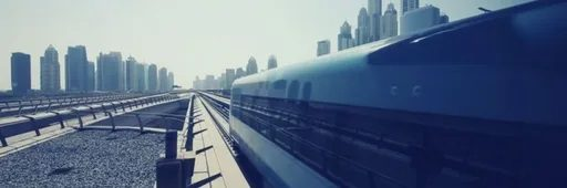Photo du métro de dubai