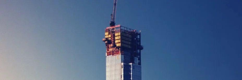 Image d'un building en construction