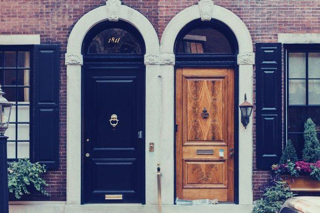 Door, Brick