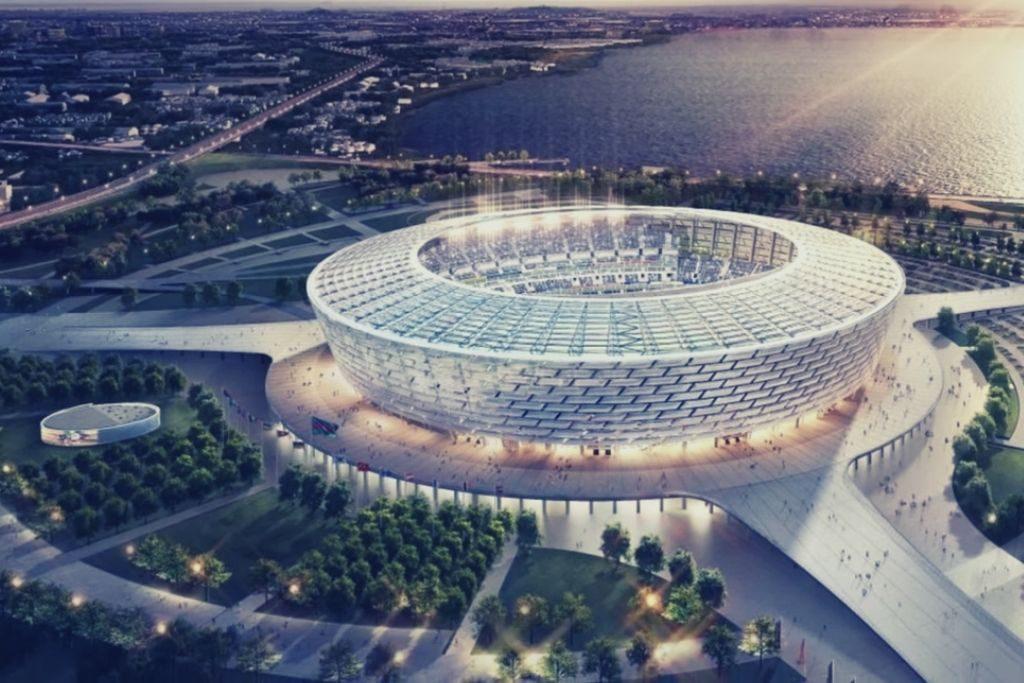 Building, Arena, Stadium, Progetti di architettura, Baku Olympic Stadium