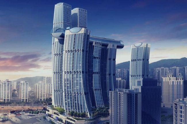 High Rise, Urban, Building
