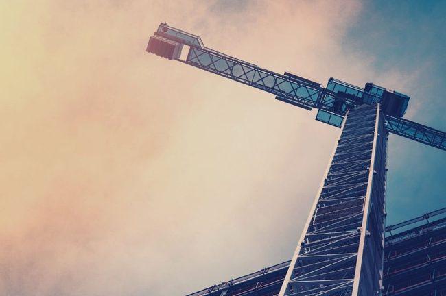 Construction Crane, Metropolis, Building