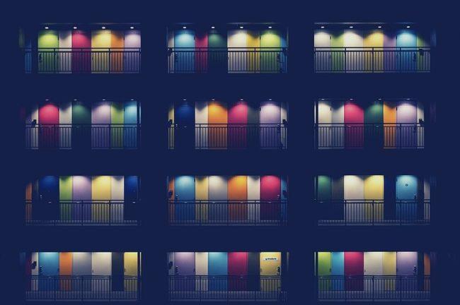 Lighting, City, Town